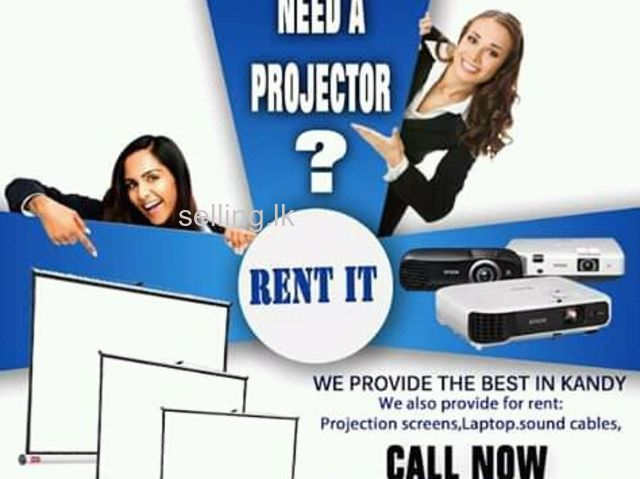 Looking for projector rent in kandy