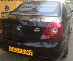 For sale micro geely mx7 car