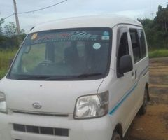 Hijet van 2012 for sale