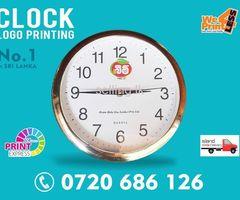 Clock Printing | Wall Clock Printing Sri Lanka  GIFTS