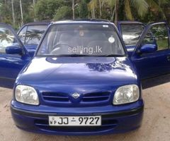 Nissan March 2000 Registered (Used) Car