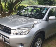 RAV4, 4W, 2400cc, year of manufactured 2007, registered in 2012