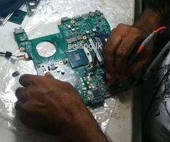 Laptop repair class (chip level repair center)