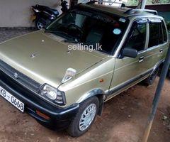 Suzuki Maruti 800 Car for sale