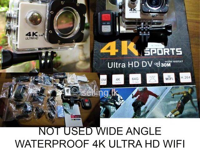 wide angle waterproof camera