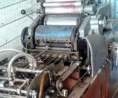 Offset print machine