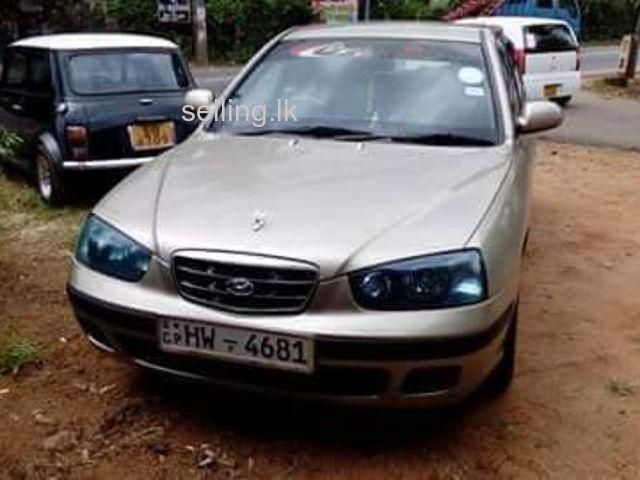 Hyundai Elentra 2001
