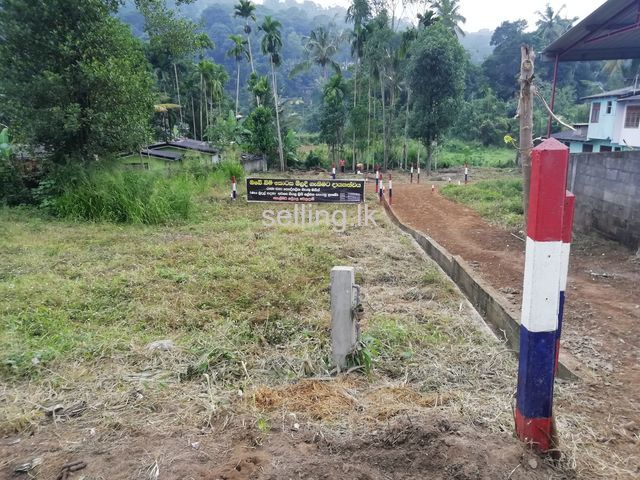 Highly residential land close to town Badulla