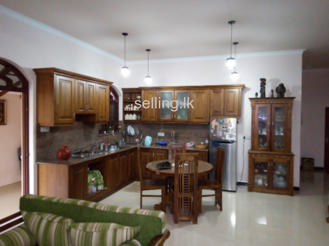 Two story house for sale in Wennappuwa