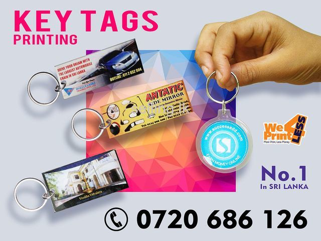 Key Tags Printing in Sri Lanka