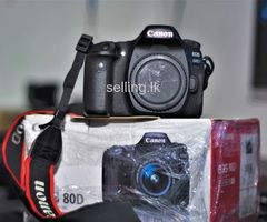 Canon EOS 80D Brand New Condition Body