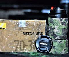 Nikon 70.300mm AF Nikor Lens