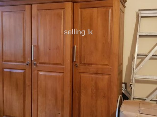 Wardrobe teak 4door