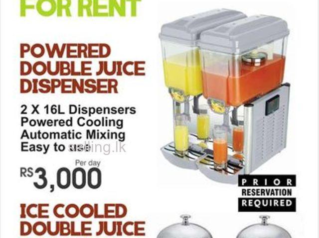 Double Juice Dispenser for Rent