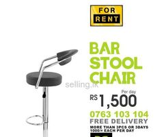 Bar Stools/Chairs for Rent.