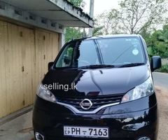 For sale Nissan nv 200 2013