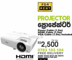 Projectors for rent Colombo, Sri Lanka.