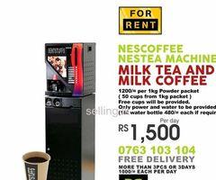 Nescafe Machine for Rent Sri Lanka