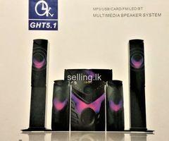 Multimedia Speaker System 5.1