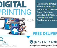 Digital Printing & Offset Printing