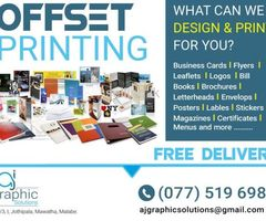 Digital Printing & Offset Printing