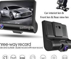 Car dashboard camera 3 in 1 premium edition