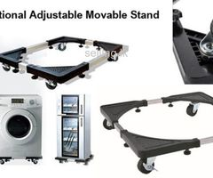 Movable Stand For Washing Machine And Refrigerator..