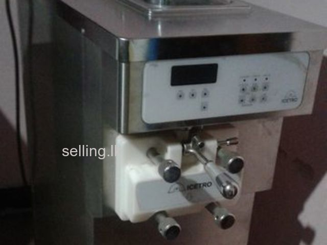 Soya ice cream machine
