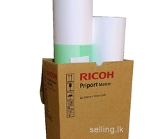 Ricoh 4450 Duplicator Genuine Original Master Roll