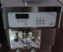 Soya ice cream machine