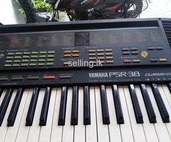 yamaha keyboard psr-38