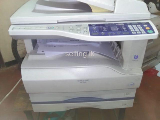 Sharp photo.copy machine