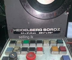 SORD Z Offset Printer