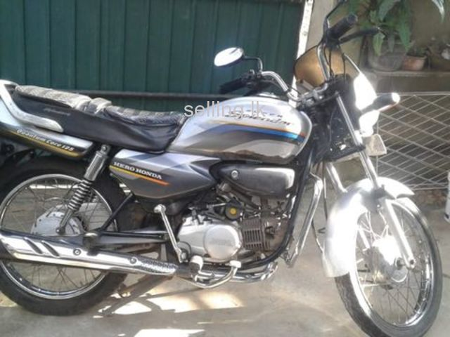 HERO HONDA BIKE FOR SALE