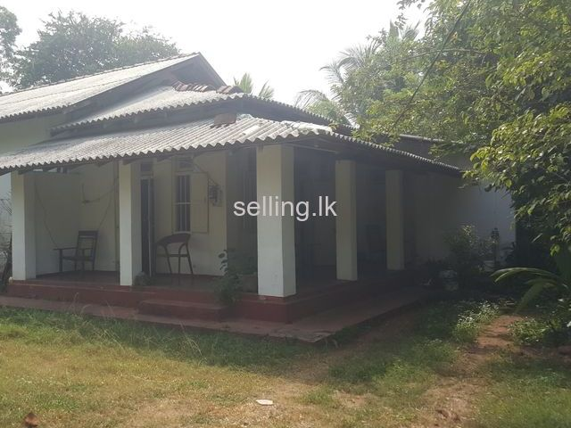Land for sale with house in Tangalla