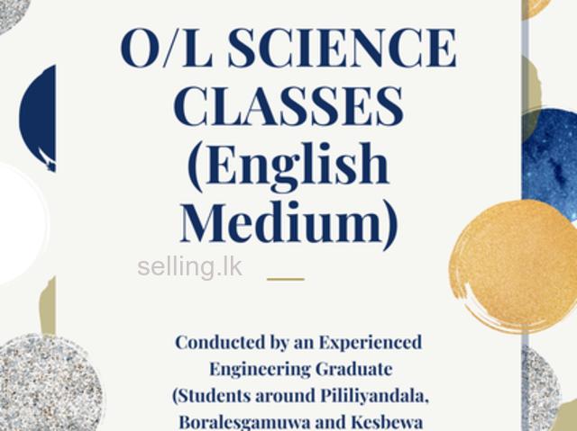 Science English Medium Classes