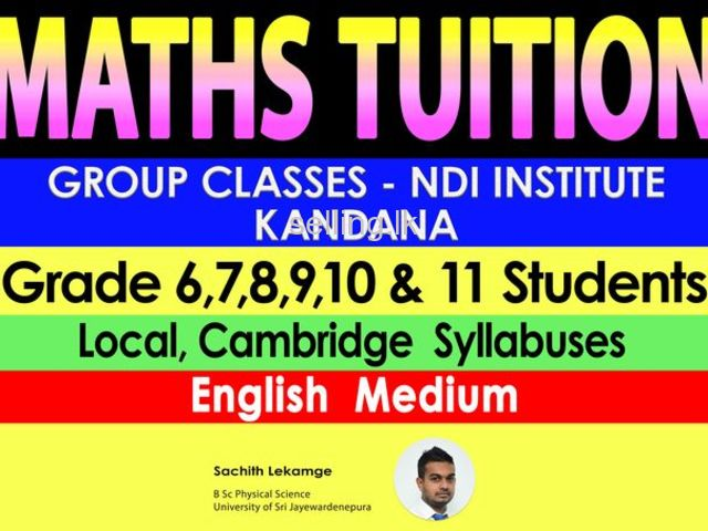 Maths Classes