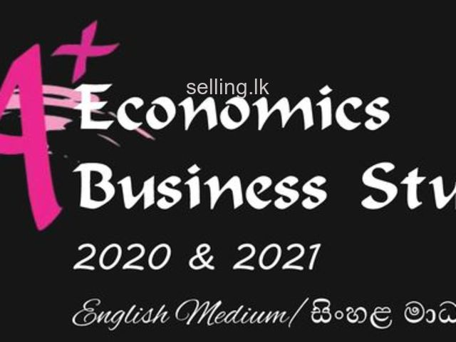 Economics & Business Studies 2020/2021