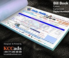 Designing And Printing #bill Books #business Card #leaflet #brochures