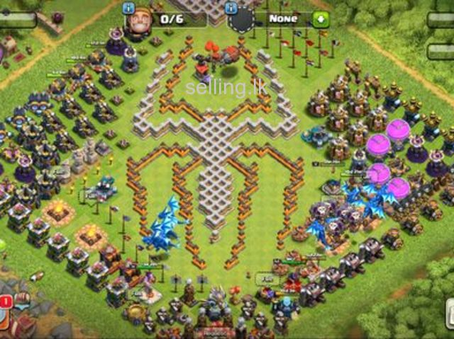 Clash of clan Th13 legend base