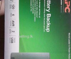 Battery Backup