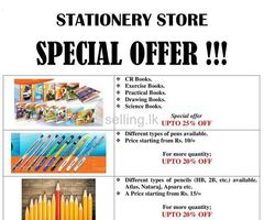 Stationery Items.