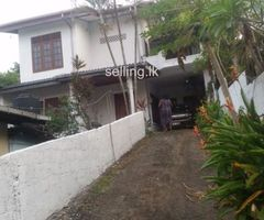 Two storied house for sale in moratuwa