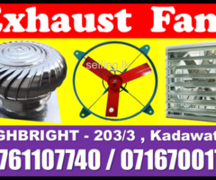 Exhaust fans, air ventilation srilanka roof ventilators manufacture  Srilanka,