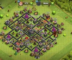 Clash of clans TH9 Base for Sale