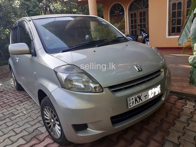 Toyota passo 2007 car for sale...