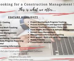 infoCube Construction Management Software