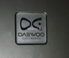 Daewoo double door fridge