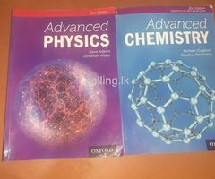 Oxford advanced physics and chemistry books