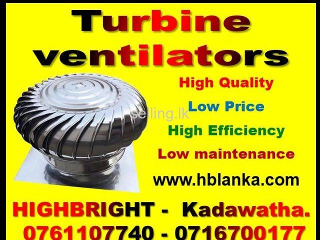 Air ventilators Wind turbine ventilators srilanka